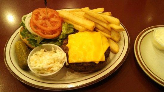 Woodside Deli: Cheeseburger Royal Platter