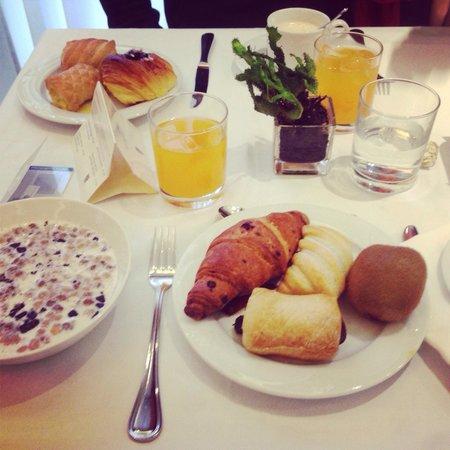 Hotel Rapallo : Un petit déjeuner parfait