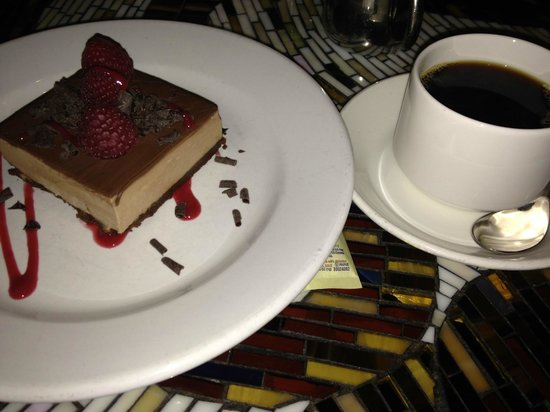 Table 10: Dessert and Coffee