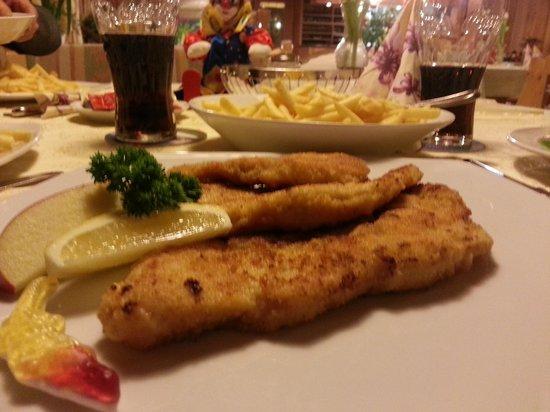 Frickingen, Deutschland: Yummy Schnitzel