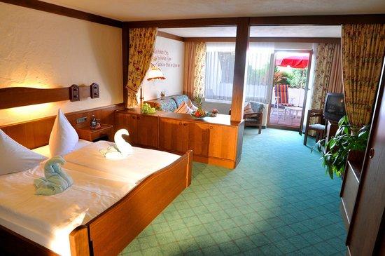 Hotel Gerbe: Juniorsuite mit Südbalkon