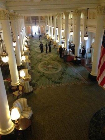 The Omni Homestead Resort: Great Room (Tea Time)