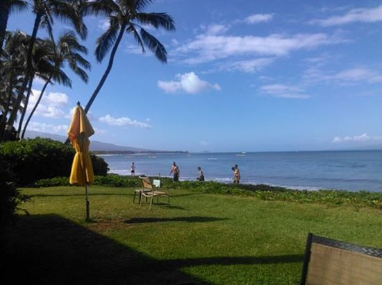 Kihei Kai Oceanfront Condos: MILES OF SUGAR BEACH