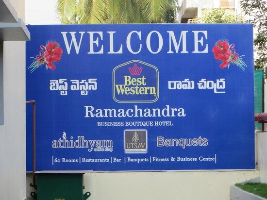 BEST WESTERN Ramachandra: Welcoming us