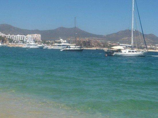 Marina Fiesta Resort & Spa : Right outside hotel, overlooking the marina.
