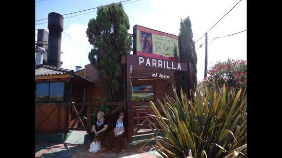 Parrilla El Loco : FRENTE DE LA PARRILLA