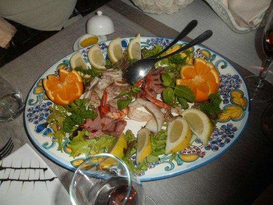 Villa Antonio: misto di pesce