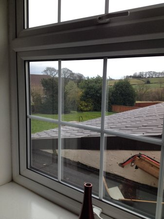 Whitton Lodge: The view from our room