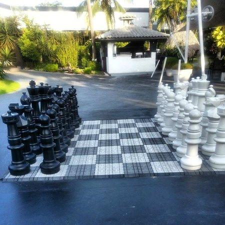Riande Aeropuerto : Jogo de Xadrez