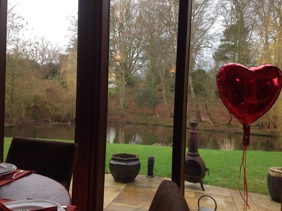 Willowbeck Lodge: View from the breakfast room