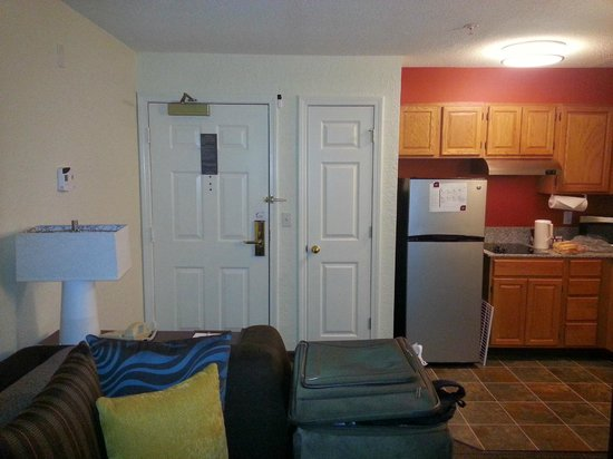 Residence Inn Danbury: The smaller door is another closet (you have a bigger one in your bedroom)