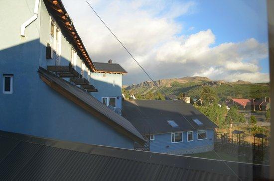 Hosteria Kallfu: Vista hacia el Noroeste
