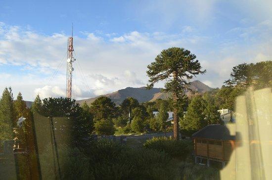 Hosteria Kallfu: Vista hacia el Suroeste