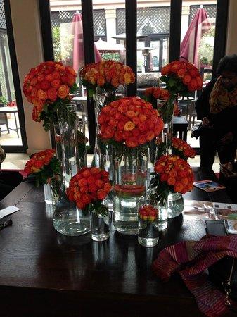 Four Seasons Resort Marrakech: Roses everywhere!