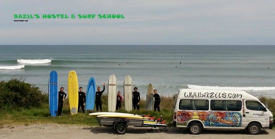 Bazil's Hostel & Surf School : Bazils Hostel & Surf School