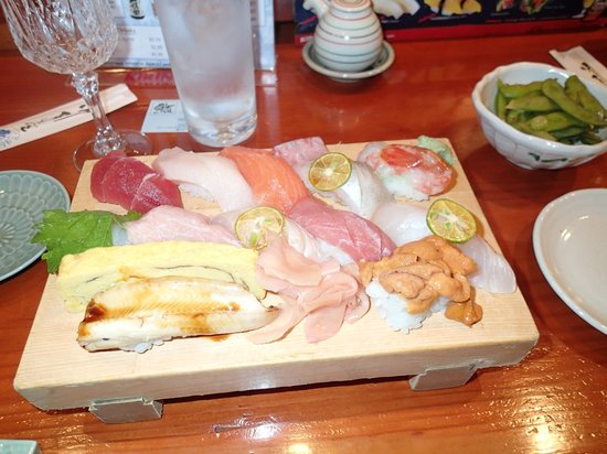 Koiso Sushi Bar: Omakase (chef's choice.) Delicious!