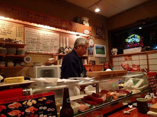 Koiso Sushi Bar: Chef Hiroaki
