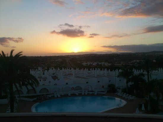 Sunprime Atlantic View: Sunset from our balcony