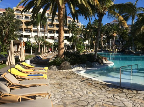 Jardines de Nivaria - Adrian Hoteles : La piscine chauffée