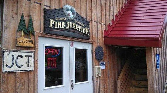 Pine Junction: Front entrance