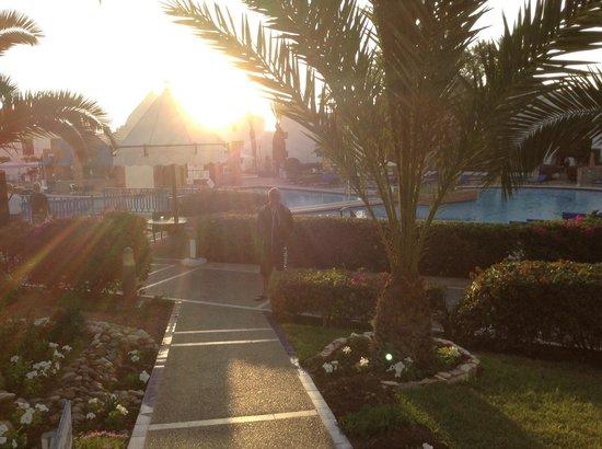 Caribbean Village Agador : Sun setting