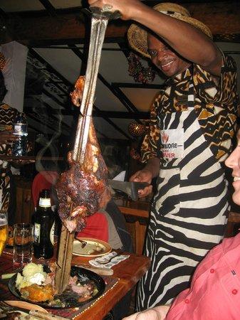 The Carnivore Restaurant : Mmmmmmmeat!