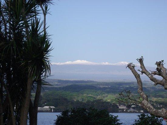 Castle Hilo Hawaiian Hotel: View of the mountain
