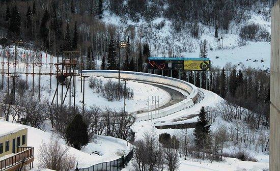 Utah Olympic Park : Lower track