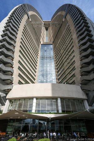 Trump International Hotel & Tower Panama: Trump Hotel ... from one of the restaurants
