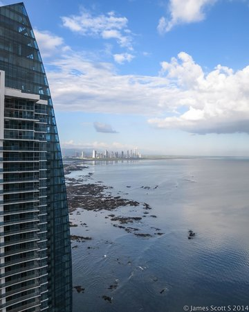 Trump International Hotel & Tower Panama: view from the 35th floor