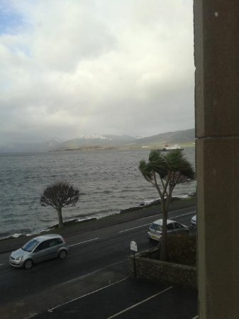 The Bayview Hotel: lovely view