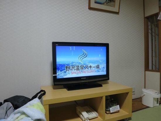 Ontake Kyukamura: テレビは地デジ液晶に更新済