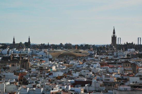 Cámara Oscura: Vista desde el balcón de la Torre