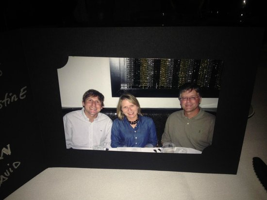 Morton's Steak House: Complimentary Family Photo