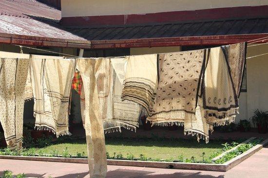 Aranya Naturals: wodden block hand printed textiles