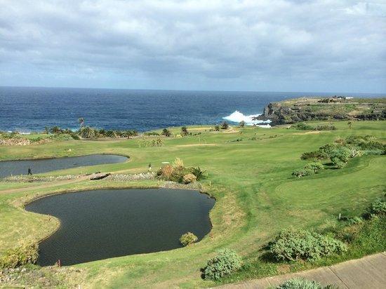 Buenavista Golf: La vue du parcours depuis le restaurant