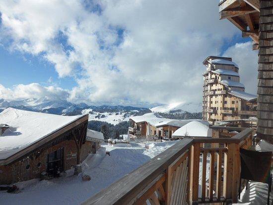 Apartamentos Pierre & Vacances Premium L'Amara: Stunning views from Dharma 3rd floor