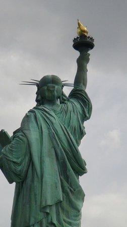 Estatua de la libertad: ¡Libertad!