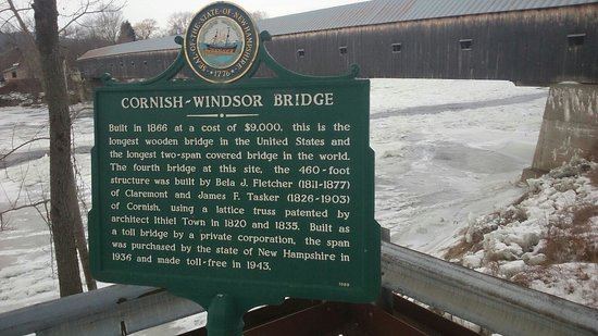 Cornish-Windsor Covered Bridge: The bridge's history