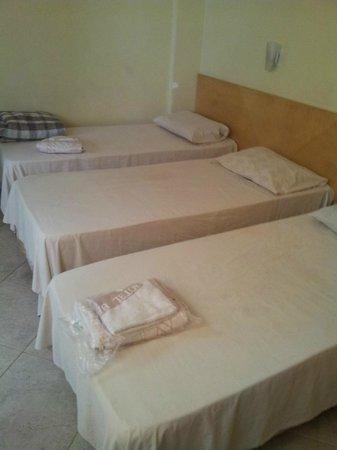 Hotel Beija Flor : Dormitorio