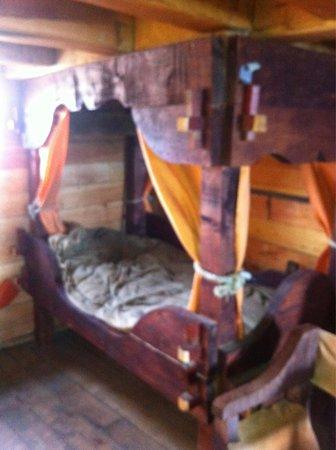 """Nao Victoria Museo: Un """"cómodo camarote"""""""