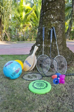 Encantada Ocean Cottages: Outdoor Games