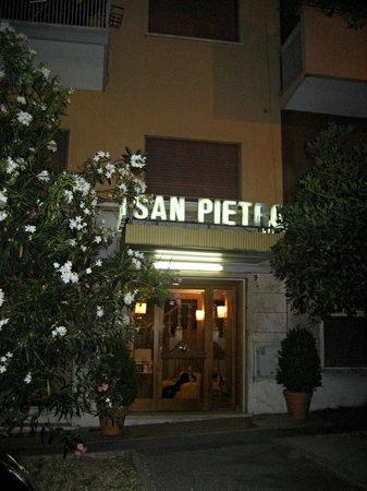 Entree van Hotel San Pietro Rome, Roma, Italie, Italia,