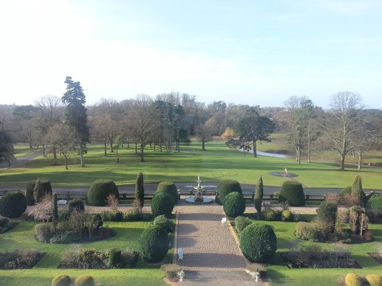 Chateau Impney Hotel & Exhibition Centre: Italian gardens from room 603