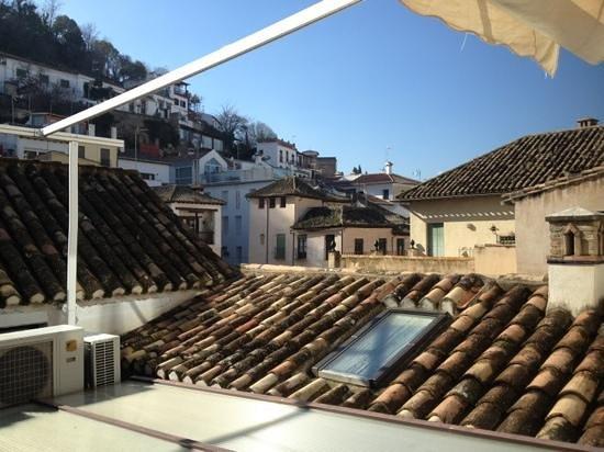 Hotel Zaguan del Darro: vistas