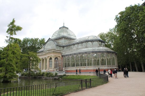 Parque del Retiro: Palácio de Vidro
