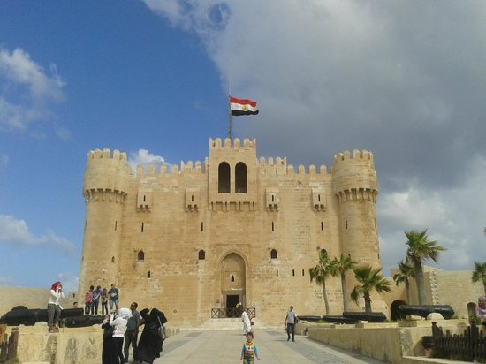 Fort Qaitbey: Front View of the Fort