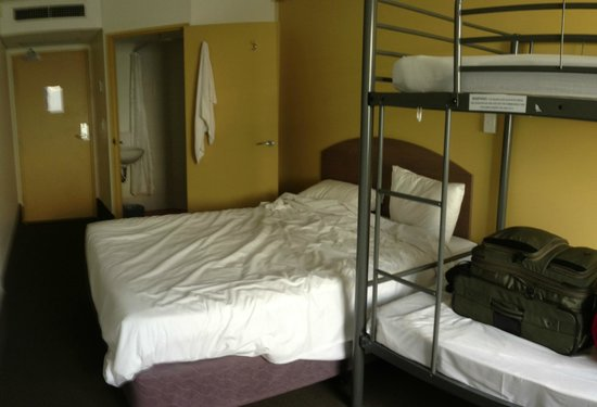 Ibis Budget Hotel Sydney Airport: the room