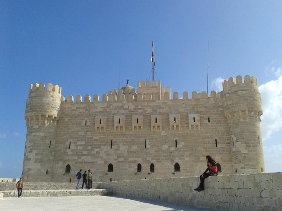Fort Qaitbey: Side View of the Fort