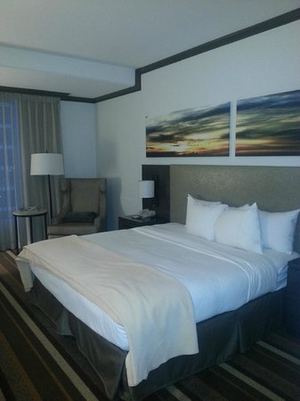 Hilton Dallas Park Cities : King size bedroom